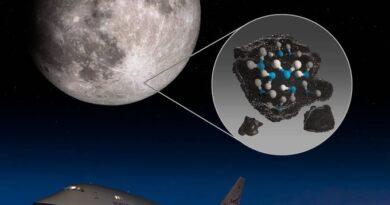 नासा ने की चन्द्रमा पर पानी पाए जाने की घोषणा